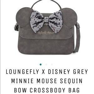 HOST PICK! Loungefly Minnie Mouse crossbody-NWOT!